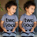Camiseta para 2 Años Bebé Kids Boy Manga Corta segunda 2 Años Cumpleaños Camisa Camisetas Top Tees Ropa