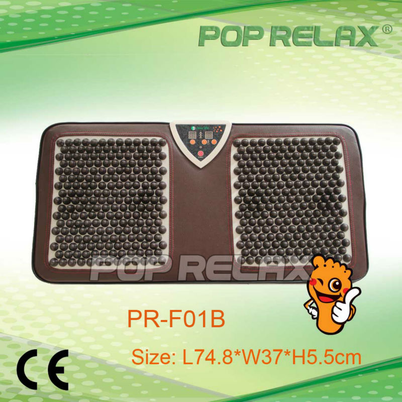 POP RELAX Tourmaline foot care heating mat electric warm second heart PR-F01B pop relax negative ion magnetic therapy tourmaline mat pr c06a 55x120cm ce