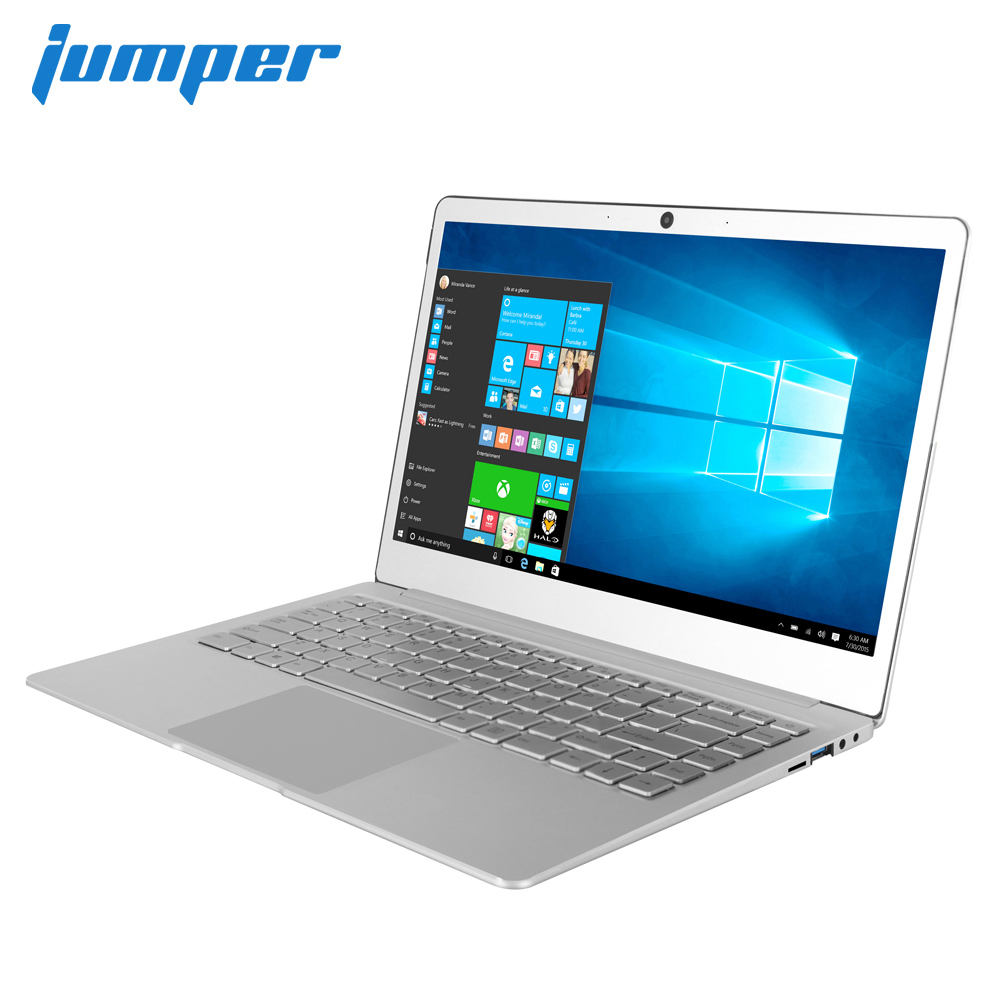 Nova polegada IPS laptop Jumper EZbook X4 Metal Case notebook 14 J3455 6G 128GB ultrabook Intel Celeron 2.4 g/5G WIFI teclado retroiluminado