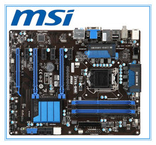 original motherboard   MSI Z77A-G45 DDR3 LGA 1155 for I3 I5 I7 CPU 32GB USB3.0 SATA3 desktop motherboard Free shipping