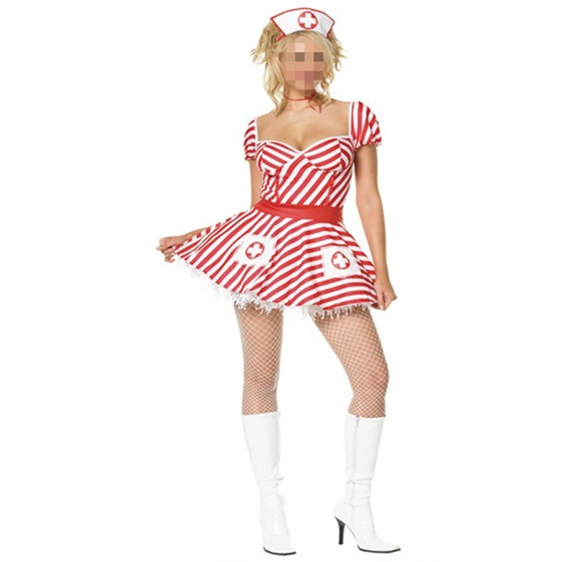 Hot Sexy Nurse Uniform Costume Ravishing Costume Sexy Nurse Dress