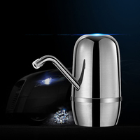 Automatic Mini Water Dispensers Water Pump USB Charging Wireless Cold Dispenser Drinking Water Bottle Switch Double Pump ABS