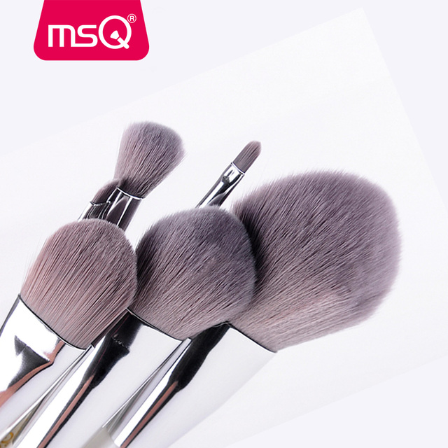MSQ Makeup Brushes Professional Zodiac Cosmetics Brush Set 8pcs High Quality Synthetic Hair With White Cylinder Brush Set 1