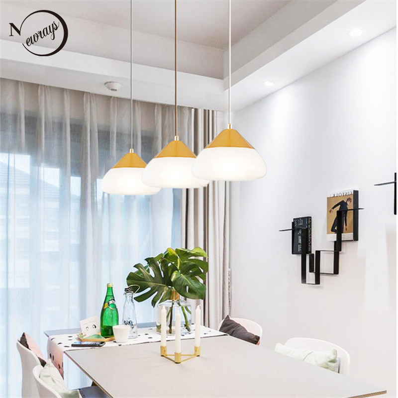 Modern simple glass single head hanging lighting E27 LED pendant lamps for kitchen dining room living room bedroom bedside cafeModern simple glass single head hanging lighting E27 LED pendant lamps for kitchen dining room living room bedroom bedside cafe