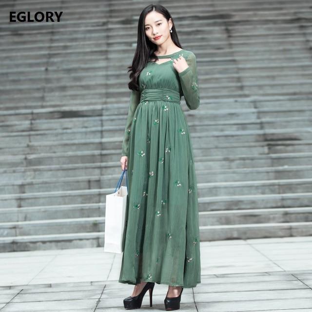 New Princess Women Long Dress Korean Fashion High Street Ladies ...