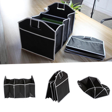 Auto Accessories Foldable Black Car Trunk Storage Bag Toy Food Modeling