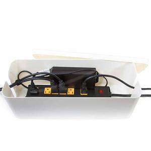 Image 3 - כבל ניהול תיבת 15.7x6.1x5.3 סנטימטרים כבל ניהול מארגן תיבת סופר גדול תיבת כבל חשמל רצועות