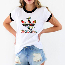 Game Of Throne t shirt women Dracarys graphic Tees Tshirt tumblr tops tee femme harajuku clothes female t-shirt
