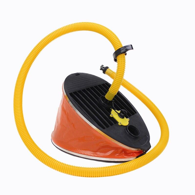 Pompe à Air gonflable extérieure portative de pompe à pied à haute pression pour le radeau de Kayak de bateau