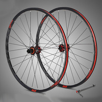 MTB Wheelset M920 STT29 Mountain Bicycle Aluminum 29er Wheels Carbon Freehub 4 Bearing Thru Axle 28Holes Round Spokes XC Racing