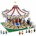 2016 nueva lepin 15013 3263 unids city creator experto grand carrusel modelo kits de construcción de juguete bloques de ladrillo compatible 10196