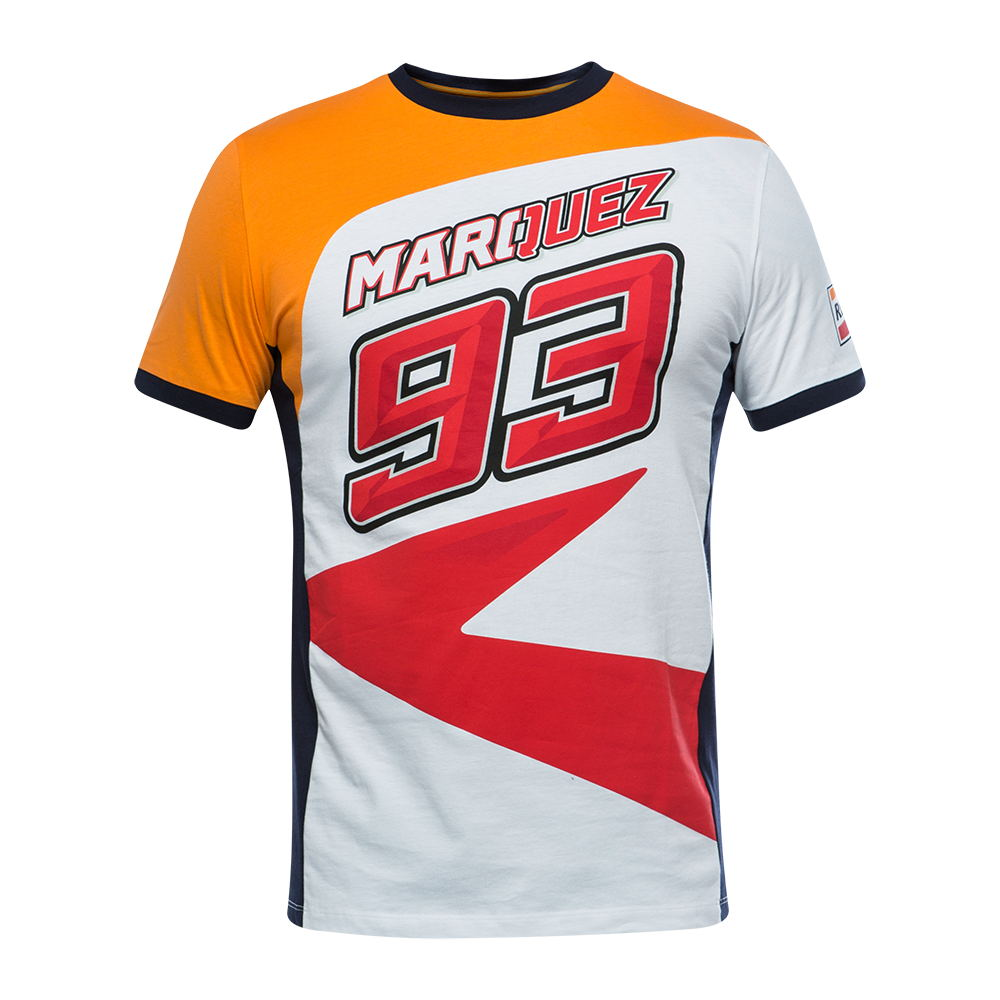 Marc Marquez 93 Camiseta Hombre Repsol MM93 T-shirt Motocorss Racing Sports ATV BIKE Men's T Shirt