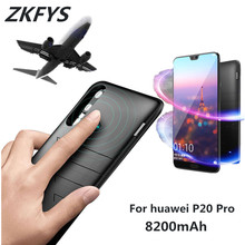 ZKFYS 8200mAh High Quality Ultra Thin Fast Charger Cover Case For Huawei P20 Pro External Power Bank Battery