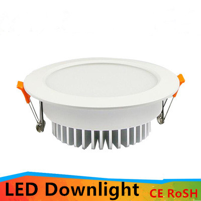 10pcs NEW 5W 9W 12W Dimmable Led downlight light Ceiling Spot Light 85 265V ceiling recessed