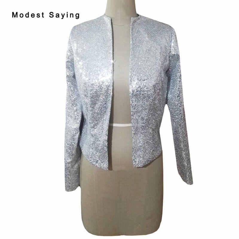 55b04240e1 Real Photo Marverlous Luxury Silver Bridal Capes Shrugs Rhinestone ...