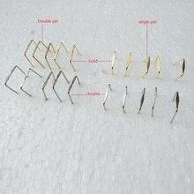 500 шт./лот 8~ 18 мм одиночный контакт/двойной контактный разъем части лампы кристалл Призма шарик разъем шпильки галстук-бабочка аксессуары для освещения