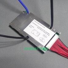 13S 48V 30A lithium polymer batterie BMS 30A kontinuierliche 100A spitzenstrom 1000 1500W 54,6 V li ion batterie BMS balance funktion