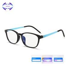 VCKA, детские очки TR90, оправа, ультра-светильник, очки для детей, анти-синий светильник, компьютерные силиконовые защитные очки для игр