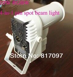 10 W RGBW pinspot wiązka światła led pin wiązki światła sceniczne DMX dj led światła ślubne światła darmowa wysyłka|Oświetlenie sceniczne|Lampy i oświetlenie -