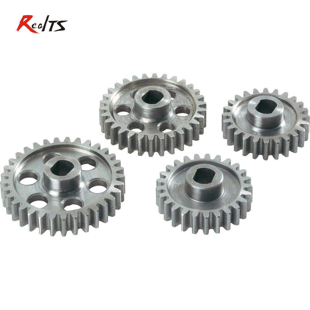 RealTS FS 112146 24/25/30/33T metal gear set for Buggy / Truggy / On road for FS Racing/ CEN /REELY 1/5 scale rc car realts fs racing 136044 diff gear set for 1 5