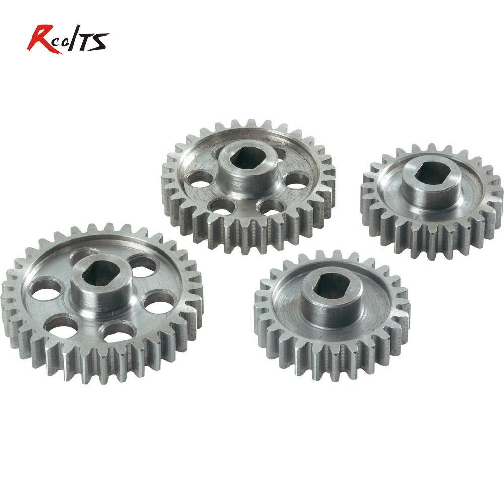 RealTS FS 112146 24/25/30/33 T metal gear set pour Buggy/Truggy/sur route pour FS Racing/CEN/REELY échelle 1/5 rc voiture