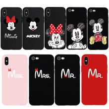 Mickey Mouse Lovers Phone Case iPhone 6 6s Plus 7 8 Plus X