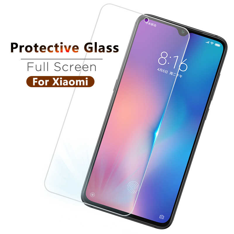 Protective Tempered Glass For Xiaomi A1 A2 9 se Mix 2 2s 3 Mi 8 Lite Mi 9 t pro Tempered Film Protective Glass For Xiaomi Mi8