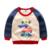 T-shirt do bebê menino roupa dos miúdos primavera primavera roupas de algodão das crianças