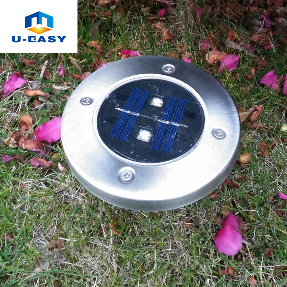 Popular park fence buy cheap park fence lots from china park fence u easy solar garden light 2 led solar led spike lights outdoor emergency lamp for baanklon Choice Image