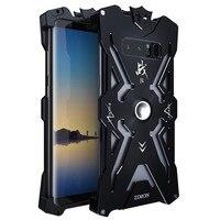Doom Zimon Lujo Armor THOR Fundas Para Samsung Galaxy NOTE 8 Caja de Metal De Aluminio de Alta Resistencia A Prueba de Golpes Teléfono Coque Proteger cubierta