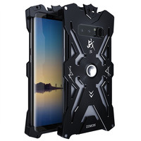 Luxury Doom Armor THOR ARES Cases For Samsung Galaxy NOTE 8 Case Metal Aluminum Heavy Duty