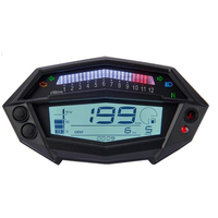 Motorcycle Tachometer Hour Meter LCD Instrument Odometer KOSO Modified Instrument