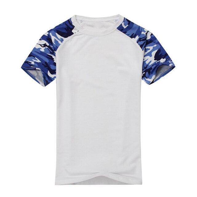 9b21d5bb 2017 NEW Man Casual Camouflage T-shirt Men Cotton Arm Combat T Shirt  Military Camo