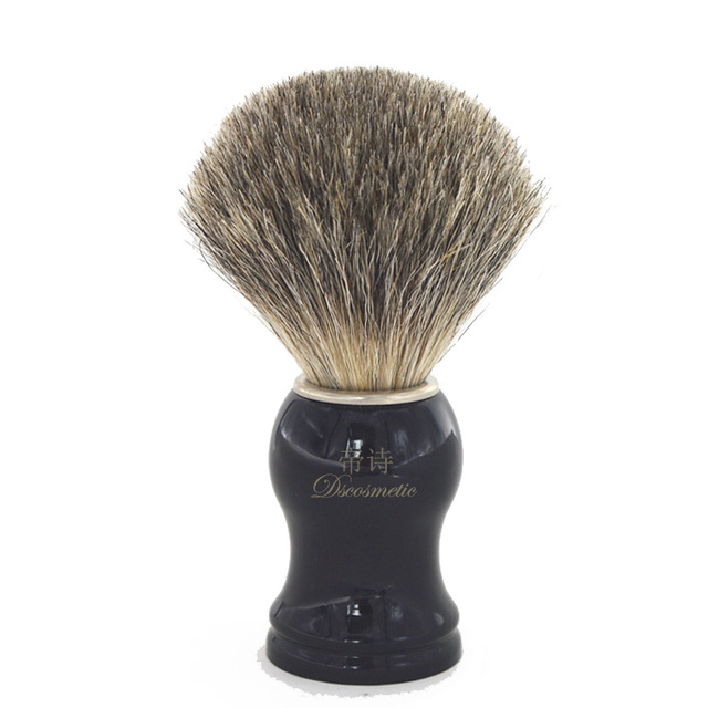 Pure Badger Hair Shaving Brush with Resin Handle Face Barber Beauty Tool traditional shaving