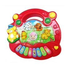 New Popular Musical Instrument Toy Baby Kids Animal Farm Piano Developmental Music Toys for Children DS19 baby kids musical educational piano animal farm developmental music toy educational kids toy random color