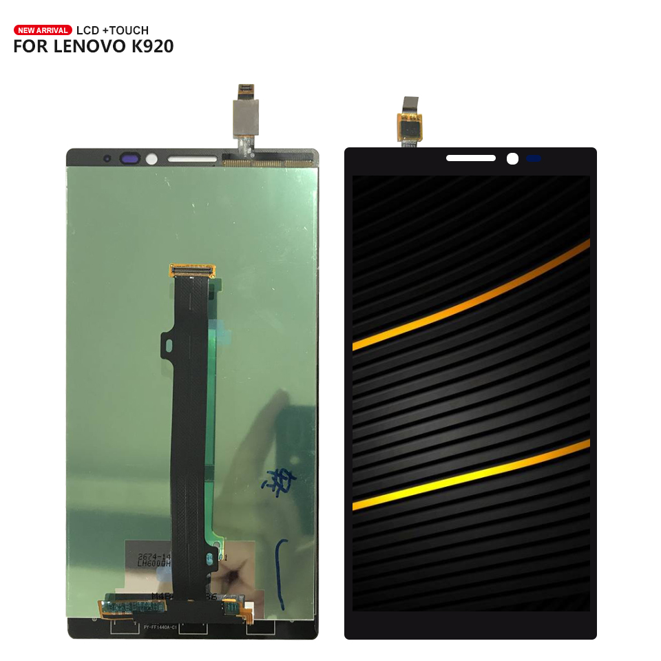 For <font><b>Lenovo</b></font> <font><b>Vibe</b></font> <font><b>Z2</b></font> Pro K920 <font><b>LCD</b></font> <font><b>Display</b></font> Digitizer <font><b>Touch</b></font> <font><b>Screen</b></font> Sensor Assembly with Free Tools image