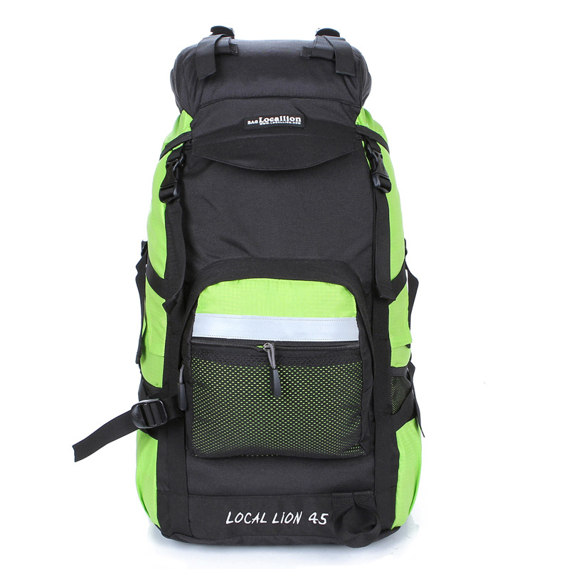 Professionla Outdoor Backpack Waterproof Nylon 45L Large Capacity Mountaineering Camping Hiking Rucksack Travel Bags 4