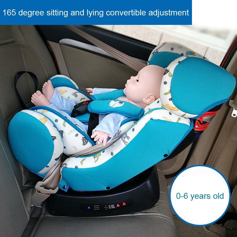Sièges de voiture de sécurité convertibles pour bébé bébé siège de voiture enfants siège de voiture cinq points harnais de sécurité bébé siège de voiture 0-6 ans