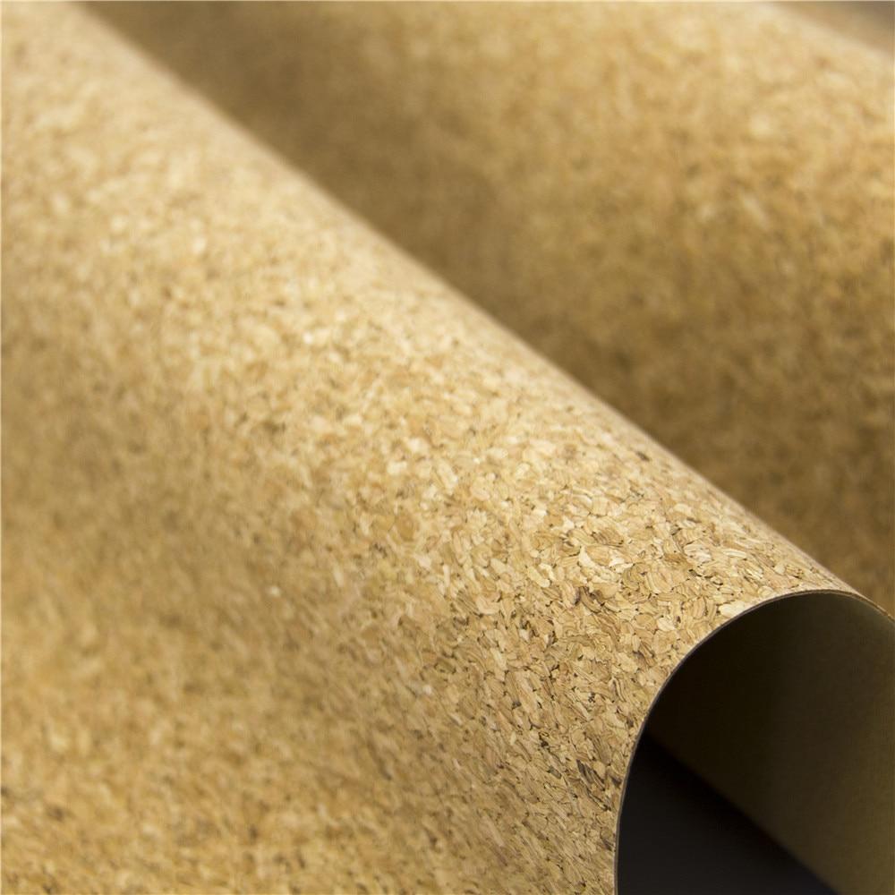Portugal cork fabric natural rustic fabric Natural Cork leather Vegan fabric COF-106
