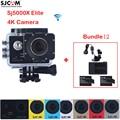 Original SJCAM Sj5000 Series SJ5000X Elite WiFi Waterproof Sports Action Camera Sj Cam DVR+2battery+Charger+Car Charger+Holder