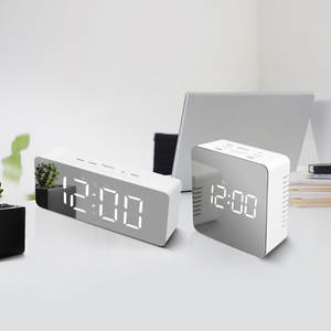Display-Clock Table-Lamps Night-Light Temperature Time No with Snooze-Wakeup-Function