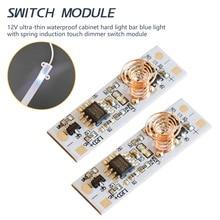 Светодиодный светильник для умного дома, сенсорный выключатель, емкостный пружинный переключатель, светодиодный диммер, 9-24 В, 30 Вт, 3 А