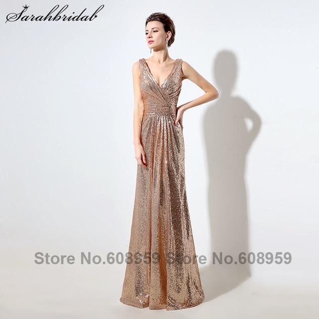 V-Ausschnitt Hochzeit Abendkleid | Kleid & Kleidung