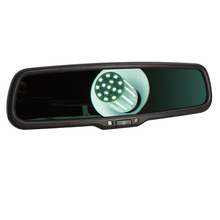 Clear View Special Bracket Car Electronic Auto Dimming Anti Glare Interior Rearview Mirror For Nissan Sylphy Tiida Versa Qashqai hd 4 3 special bracket auto dimming interior mirror monitor auto anti glare mirror car parking monitor for vw fort kia toyota