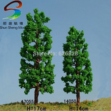 цена на 50pcs H :12cm model wire scale tree for building model layout model tree with leaf