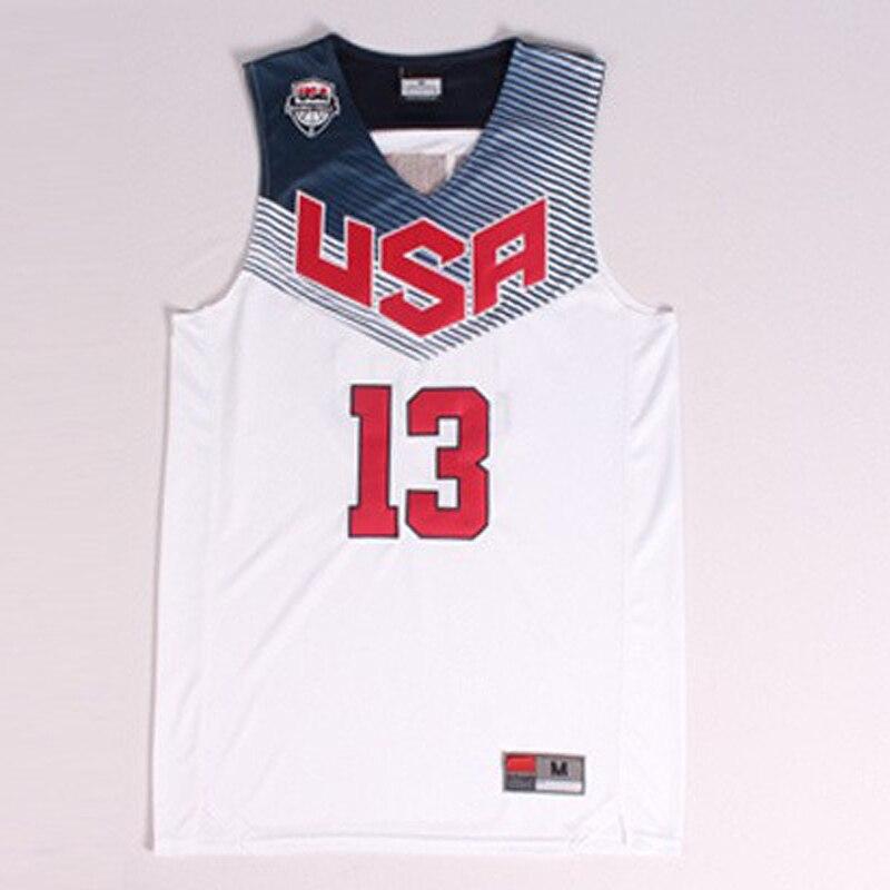 61067ee005f  13 James Harden Men s Blue White 2014 FIBA Basketball World Cup Jersey
