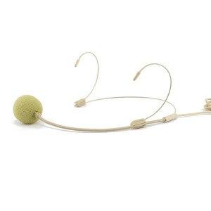Image 1 - المهنية سماعة الرأس 3.5 مللي متر السلكية ميكروفون مكافحة التدخل واضح الحساسة UHF عالية الدقة