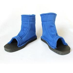 Image 3 - Kigucos naruto cosplay sapatos akatsuki trajes sapatos konohagakure nenhum sato ninja botas haruno sakura sandálias macio zapatos 2 cor