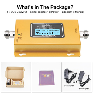 Image 5 - 70dB LCD LTE 700MHz B28A 4G Signal Booster Mobile Phone Repeater for Brazil