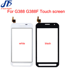 10 pcs New G388 Painel da Tela de Toque Para Samsung Galaxy Xcover 3 G388F F388 4.8 Touchscreen Frente Digitador Sensor de Vidro
